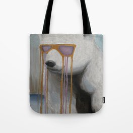 Coked Out Bear, not the soft drink Tote Bag