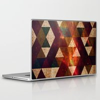 polygon Laptop & iPad Skins featuring Polygon by Tony Vazquez