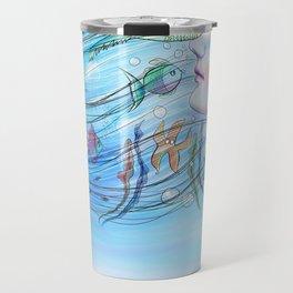Aqua Girl Travel Mug