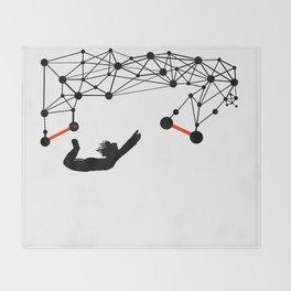 the Trapeze Throw Blanket
