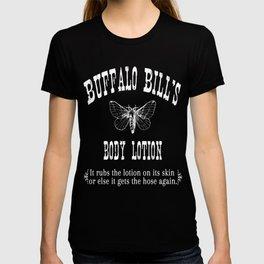 The Silence Of The Lambs - Buffalo Bills Body Lotion T-shirt