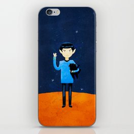 Live Long And Prospurr iPhone Skin