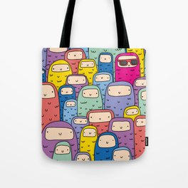 Color Monsters Tote Bag