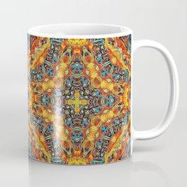 Sacred Flames and Tubes Between Coffee Mug