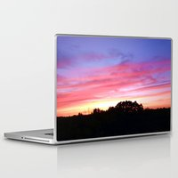 wisconsin Laptop & iPad Skins featuring Wisconsin Sunset by Ron Trickett