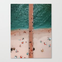 Hello Ocean Canvas Print
