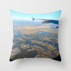 Great Salt Lake Throw Pillow