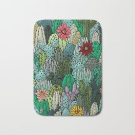 Cactus Collection Bath Mat