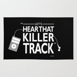 Lets Hear That Killer Track Rug
