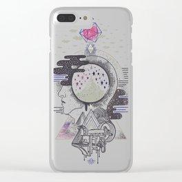 Hyper Dreamer Clear iPhone Case