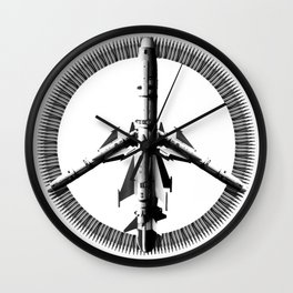 War is Peace Wall Clock