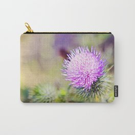 Wild Thistle Carry-All Pouch