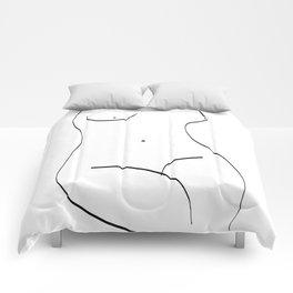 Nude Body Comforters