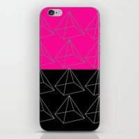 pyramid iPhone & iPod Skins featuring Pyramid by Georgiana Paraschiv
