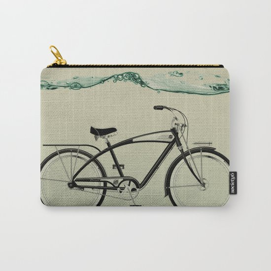 wet wheels Carry-All Pouch
