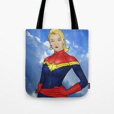 Carol Danvers Tote Bag