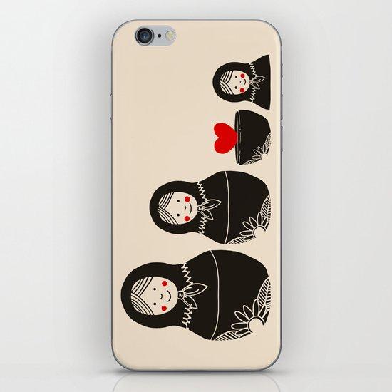 The Same Inside iPhone & iPod Skin