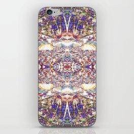 Purple Diversion iPhone Skin
