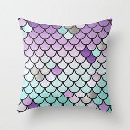 Pisces II Throw Pillow