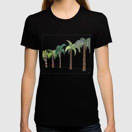 Palm Tree Lined Street T-shirt