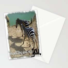 The best thing about me Stationery Cards