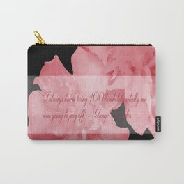 """I always knew being 100% wholeheartedly me was going to pay off"" - Solange Knowles Carry-All Pouch"