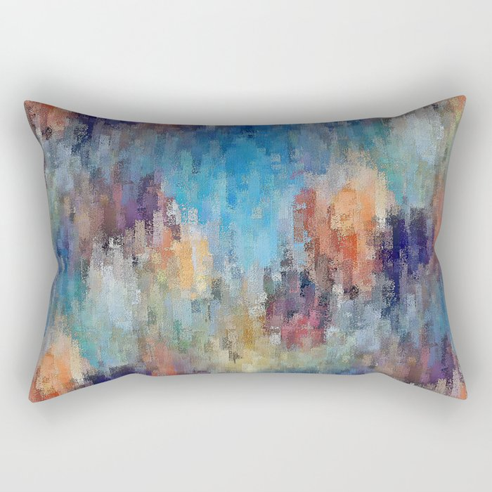 Life is a Box of Crayons (transitioning to Heaven's Gate) Rectangular Pillow