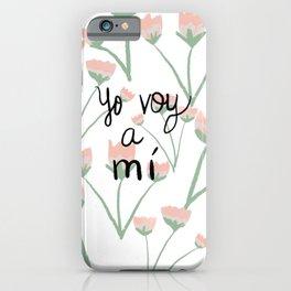Yo voy a mi iPhone Case