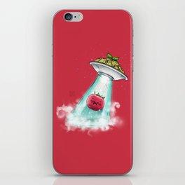 UFO. Italian Spaghetti Dreams iPhone Skin