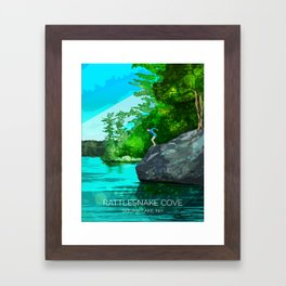 Rattlesnake Cove Framed Art Print