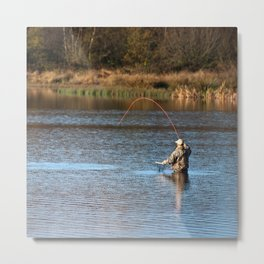 Gone Fishing 2 Metal Print