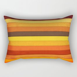 Vertical Grunge Rectangular Pillow
