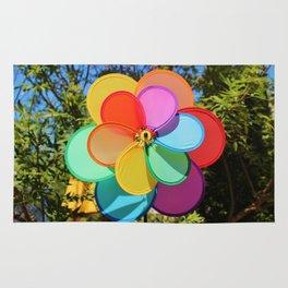 Rainbow Wind Spinner Rug