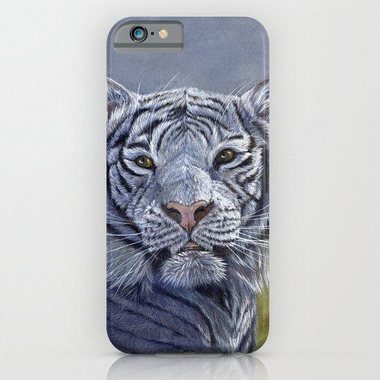 White Tiger 1207b iPhone & iPod Case