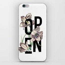 Open iPhone Skin