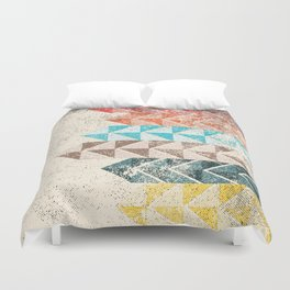 Dirty Lines Duvet Cover