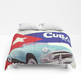 Cuba by Air Comforters