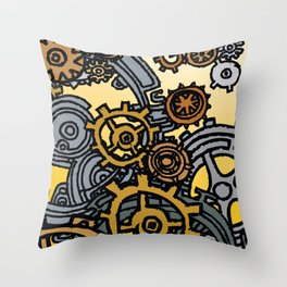 QUARTER TO FOUR Throw Pillow