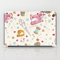 sewing iPad Cases featuring Sewing by Epoque Graphics