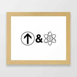 Up&Atom. Framed Art Print