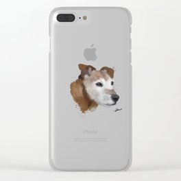 Jack Russell Terrier Dog Clear iPhone Case