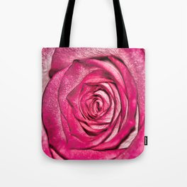 Textures of a Rose Tote Bag