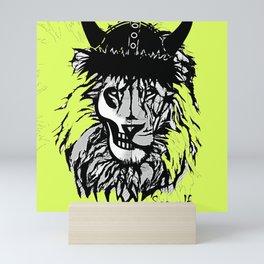 Seawolf Lion Mini Art Print