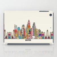 austin iPad Cases featuring Austin texas by bri.buckley