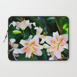 lilies and leaves Laptop Sleeve