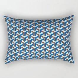 Blue Ygoon Rectangular Pillow