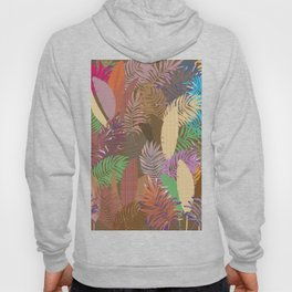 Tropical Leafs Abstract Hoody