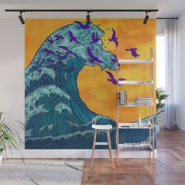 Wave of Change Wall Mural