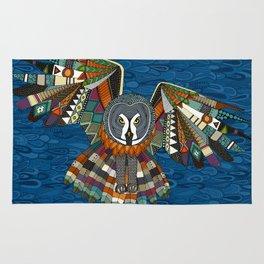 night owl blue Rug