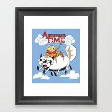 Airbender Time Framed Art Print